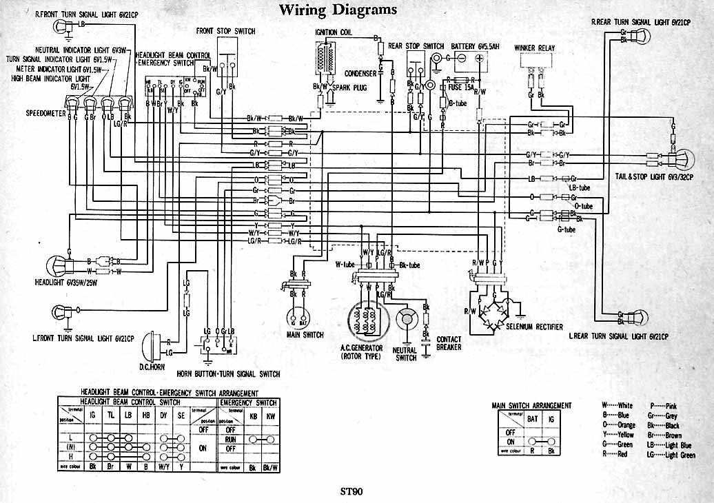 70 Additionally Honda Ct90 Wiring Diagram Additionally Honda Ct90 ...